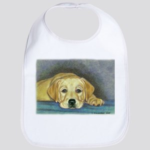 Time Out Yellow Lab Pup Bib