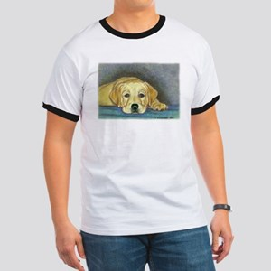 Time Out Yellow Lab Pup Ringer T