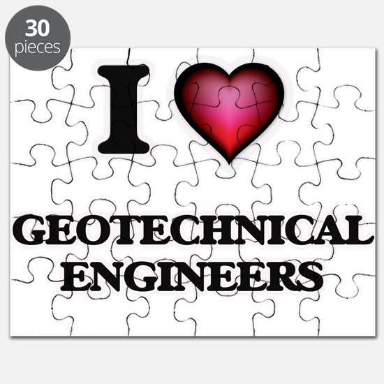 I love Geotechnical Engineers Puzzle