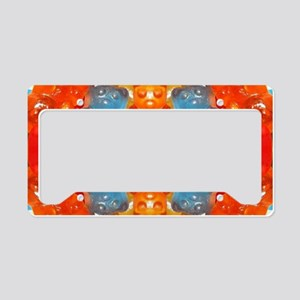 cute candy colorful gummy bea License Plate Holder