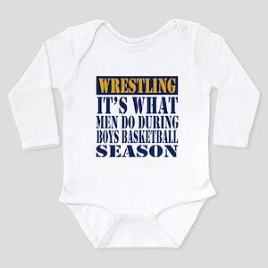 Wrestling What Men Do Body Suit