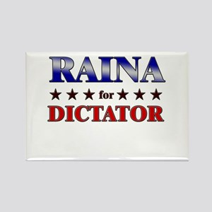 RAINA for dictator Rectangle Magnet