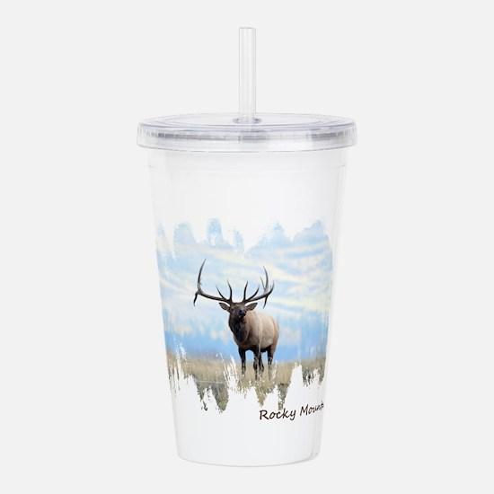 Rocky Mountain Elk Acrylic Double-wall Tumbler