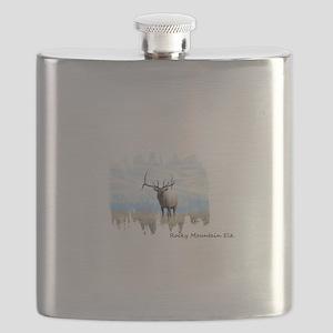 Rocky Mountain Elk Flask