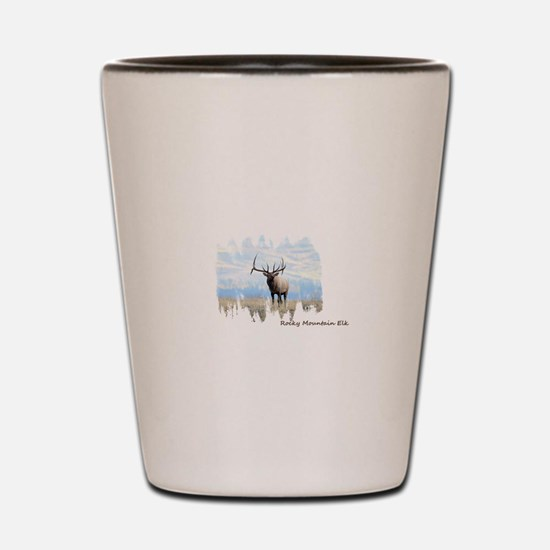 Rocky Mountain Elk Shot Glass