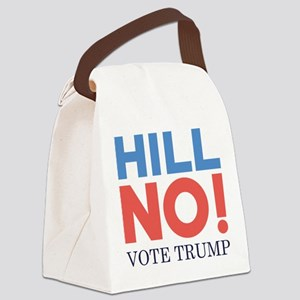 HILL NO Canvas Lunch Bag