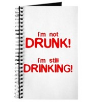 I'm Not Drunk! Journal