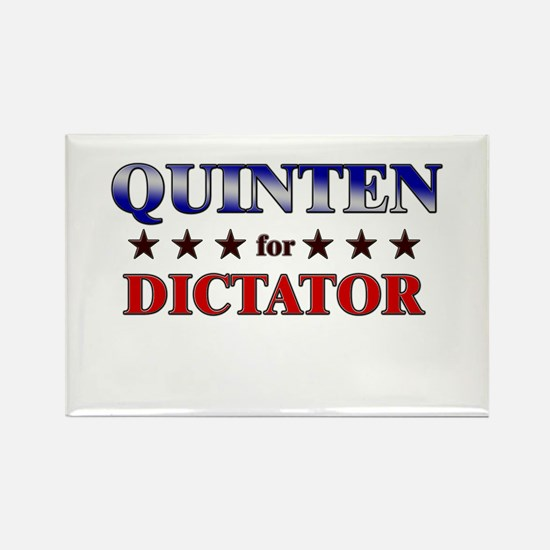 QUINTEN for dictator Rectangle Magnet
