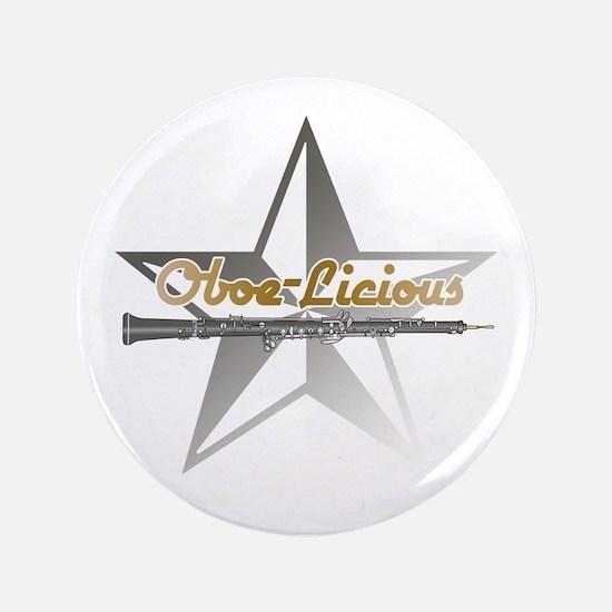 """Oboe - Licious 3.5"""" Button"""