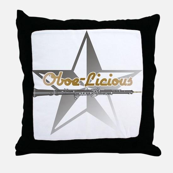 Oboe - Licious Throw Pillow