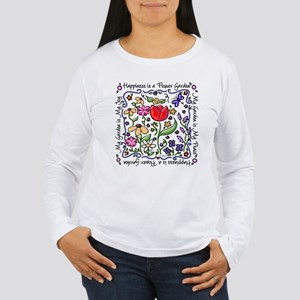 garden-flat Long Sleeve T-Shirt