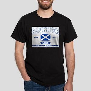 Bagpiper Ash Grey T-Shirt