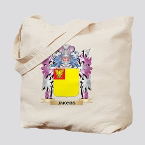 Jakobs Coat of Arms - Family Crest Tote Bag