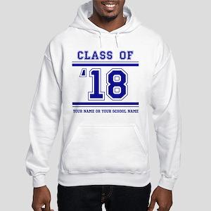 Class 2018 Hooded Sweatshirt