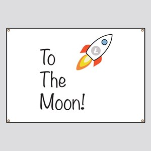 Litecoin - To The Moon! Banner