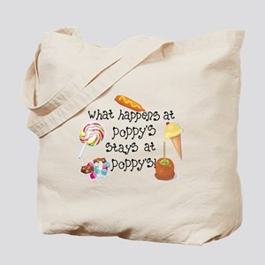 What Happens at Poppy's... Tote Bag