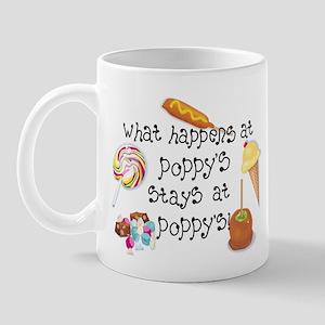 What Happens at Poppy's... Mug