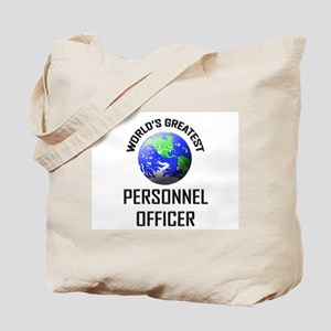 World's Greatest PERSONNEL OFFICER Tote Bag