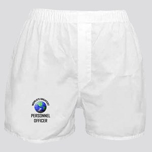 World's Greatest PERSONNEL OFFICER Boxer Shorts