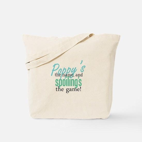 Poppy's the Name! Tote Bag