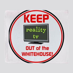 Keep Trump & reality TV out of the Whitehouse Thro