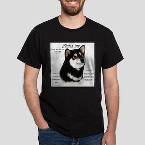 Shiba Inu (blk/tan) T-Shirt