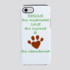 RESCUE the mistreated SAVE t iPhone 8/7 Tough Case