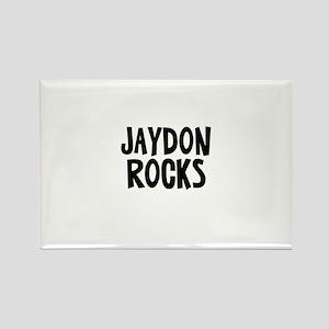Jaydon Rocks Rectangle Magnet
