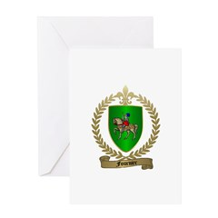 FOURNIER Family Crest Greeting Card