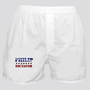 PHILIP for dictator Boxer Shorts