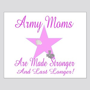 army moms made stronger Small Poster