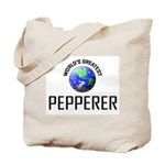 World's Greatest PEPPERER Tote Bag