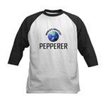 World's Greatest PEPPERER Kids Baseball Jersey