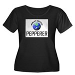 World's Greatest PEPPERER Women's Plus Size Scoop
