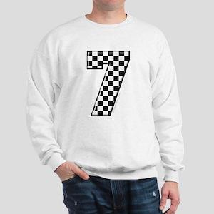 Checkered #7 Sweatshirt