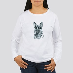 German Shepherd Women's Long Sleeve T-Shirt