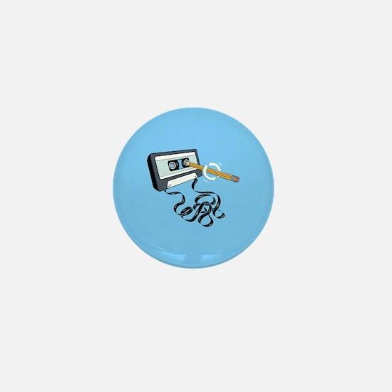 Back in the Day | Retro Cassette Tape Mini Button