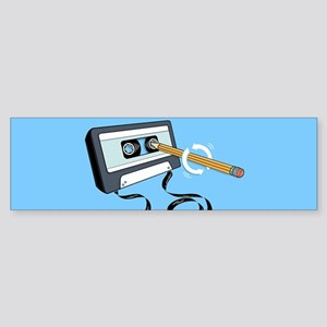 Back in the Day | Retro Cassette Ta Bumper Sticker