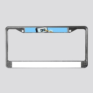 Back in the Day | Retro Casset License Plate Frame