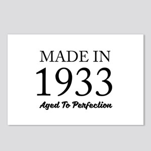 Made In 1933 Postcards (Package of 8)