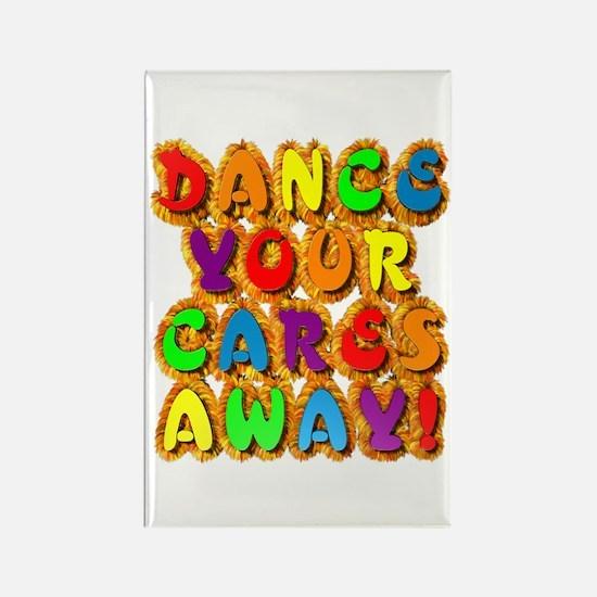 Furry Dance Rectangle Magnet