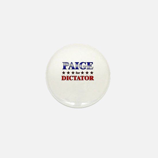 PAIGE for dictator Mini Button