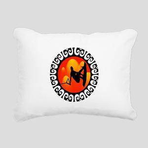 WAKEBOARD Rectangular Canvas Pillow