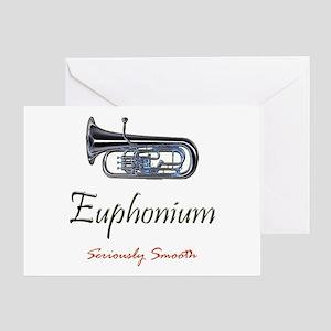 Euph Smooth Greeting Card