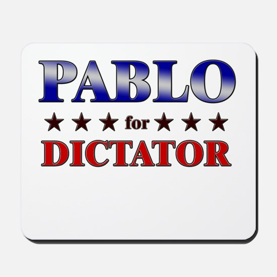 PABLO for dictator Mousepad