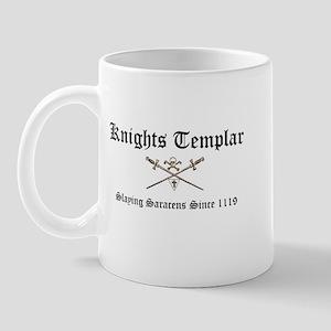 Knights Templar Slaying Sarac Mug