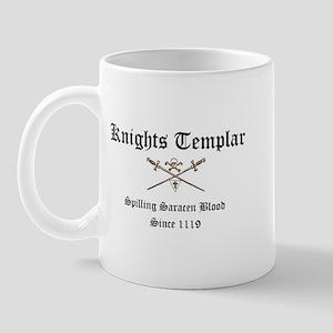Knights Templar Spilling Sara Mug