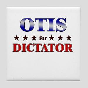 OTIS for dictator Tile Coaster