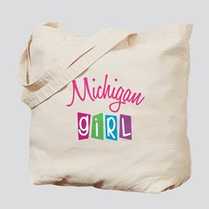 MICHIGAN GIRL! Tote Bag