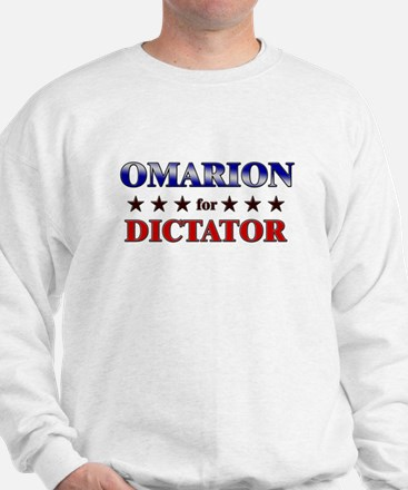 OMARION for dictator Sweatshirt